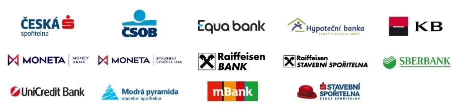Naši partneři v oblasti financování